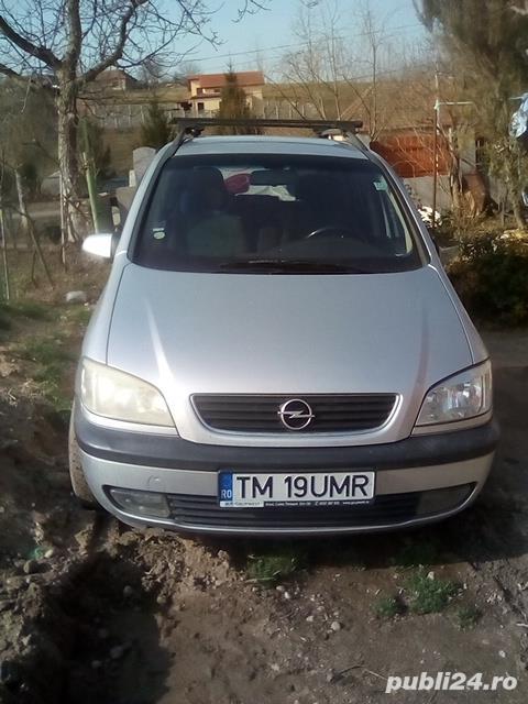 Opel Zafira pe gpl