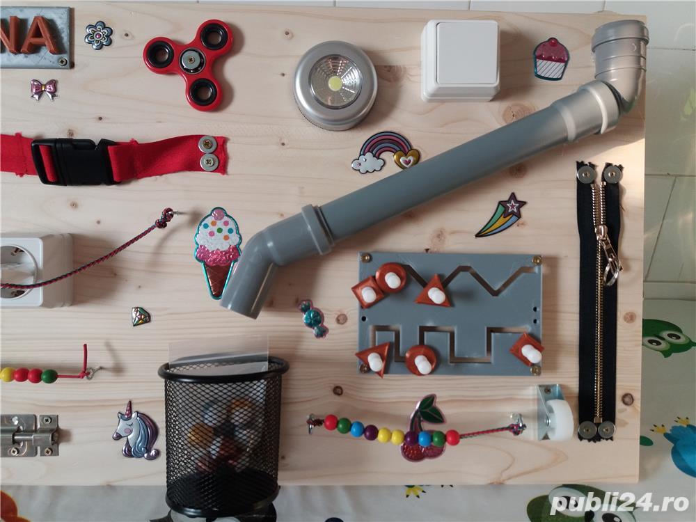 Placa senzoriala busyboard Montessori