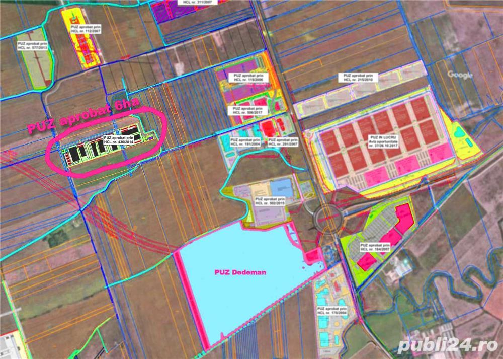 PUZ industrial 60.000 mp Intravilan Timisoara, zona Aradului