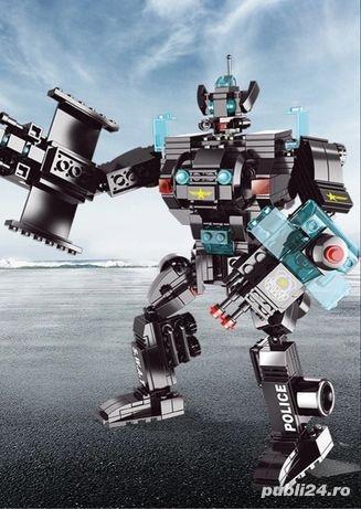 Politie ROBOT 501 piese creator avion city auto tip lego armata razboi