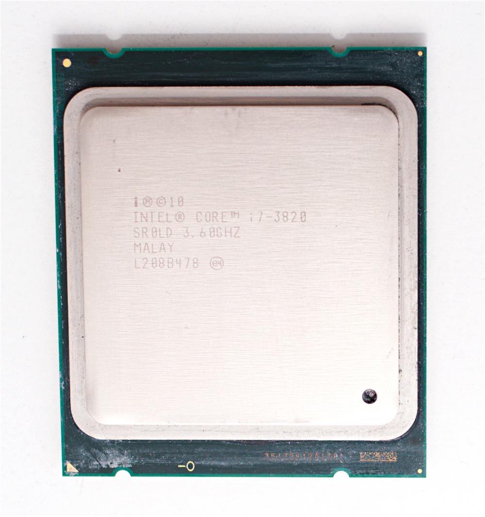 Procesor i7 3820, 3.6GHz, testat
