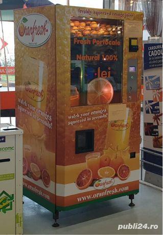 Automate de vending fresh de portocale
