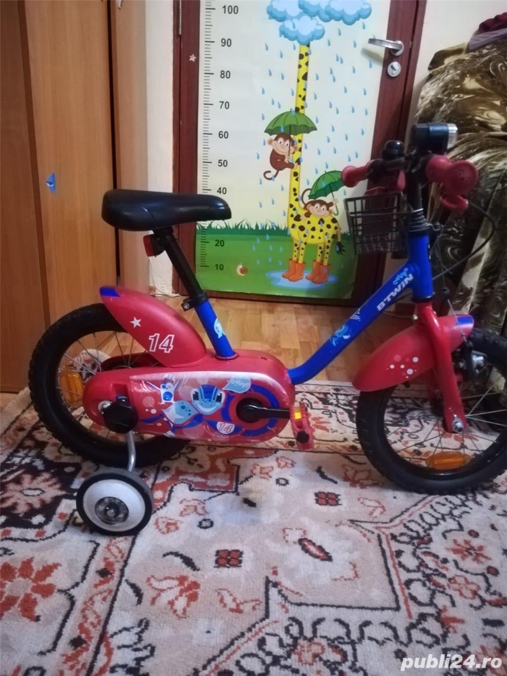 Bicicleta și trotineta pentru copii