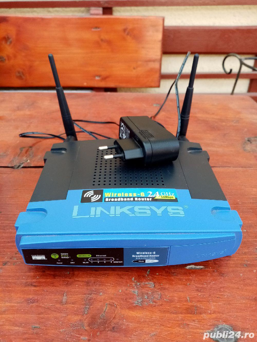 Router wireless Linksys