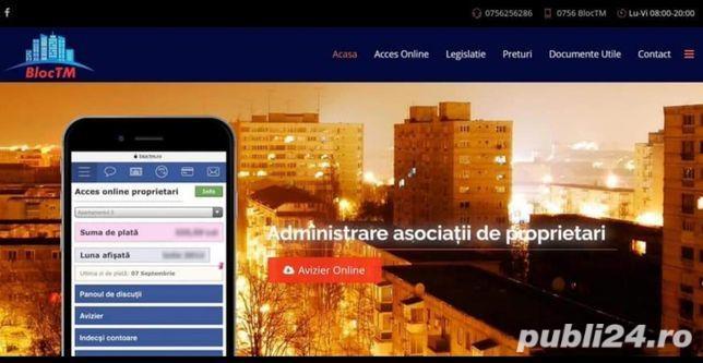 BlocTM.ro   Administrator Bloc, imobile, condominiu   Firma administrare Asociați de proprietari