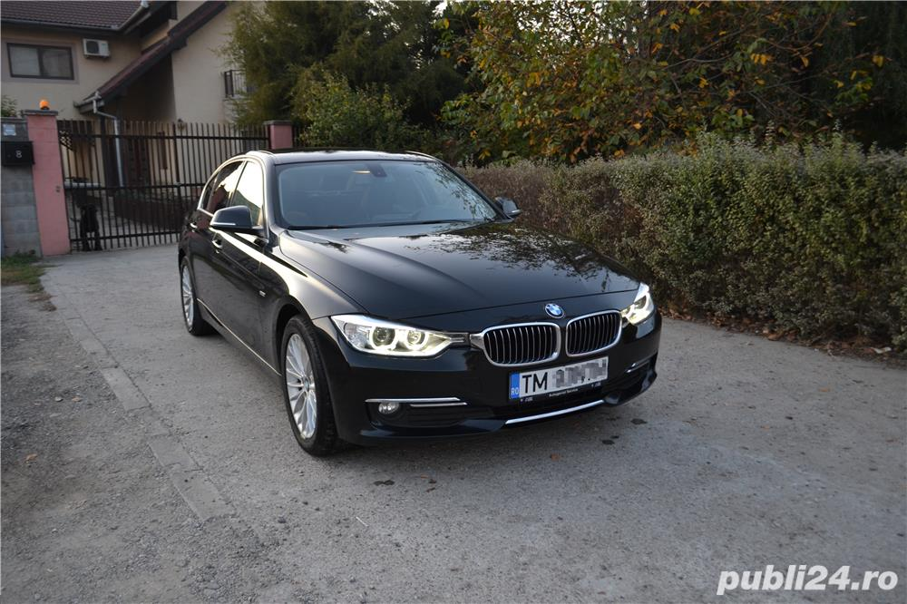 Bmw Seria 3 F30 luxury DIESEL inscris istoric de la 0 km