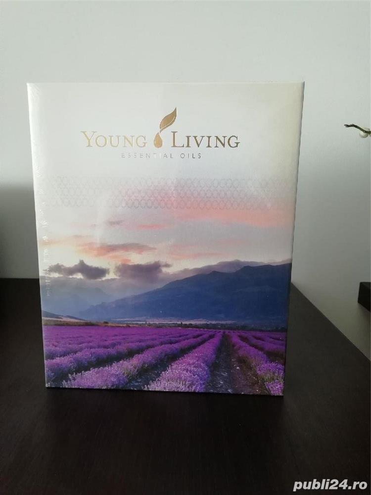 Young Living Premium Starter Kit cu difuzor DewDrop