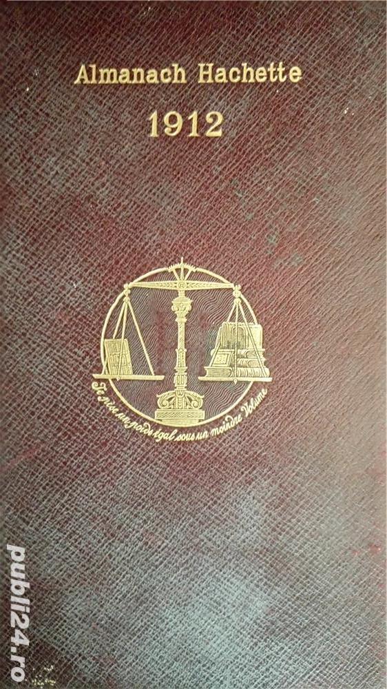 Almanah Hachette 1912.