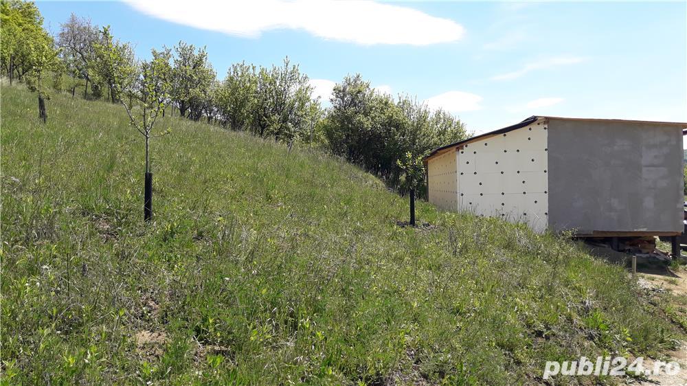 vand teren si cabana, 20 km de Sibiu