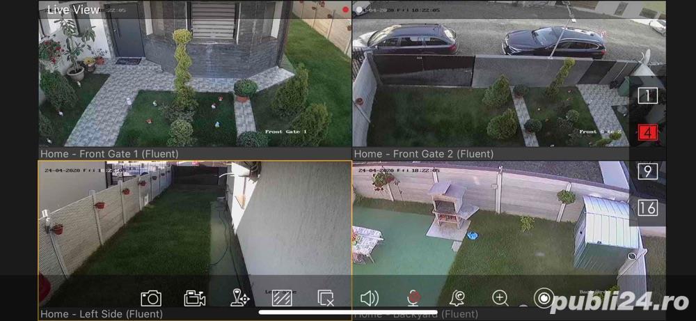 System de Supraveghere Video pe Telefon