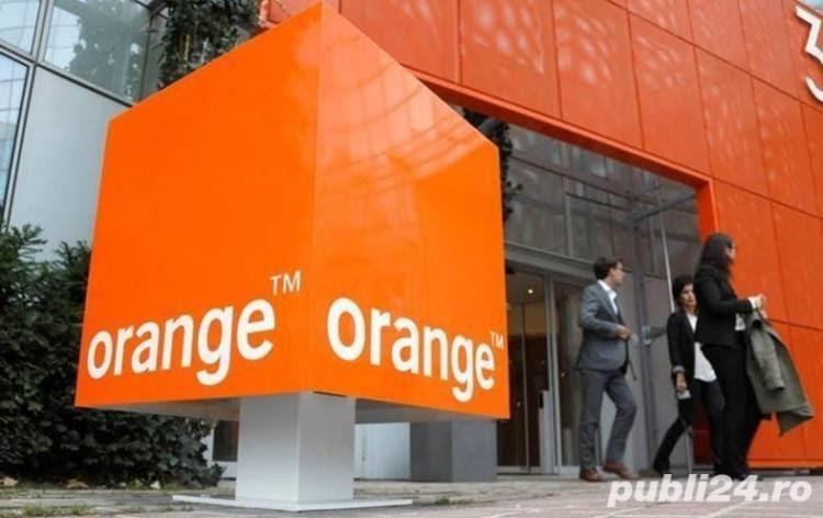 Orange angajează agenți de vânzări
