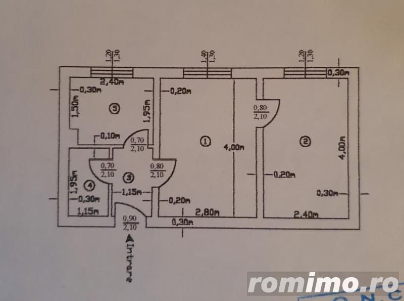 Apartament 2 camere Trivale | Scoala 13