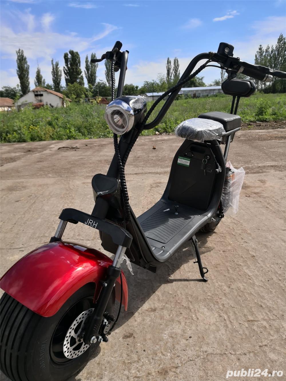 Scuter electric scooter Cu baterie detașabilă
