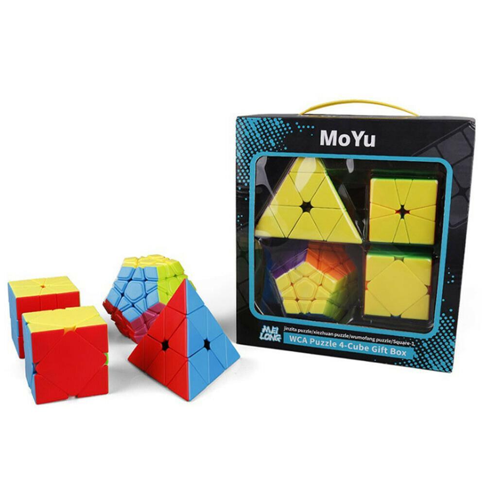 Set Cub Rubik, Rubik - Megaminx, Pyraminx, Skewb, Sqaure-1