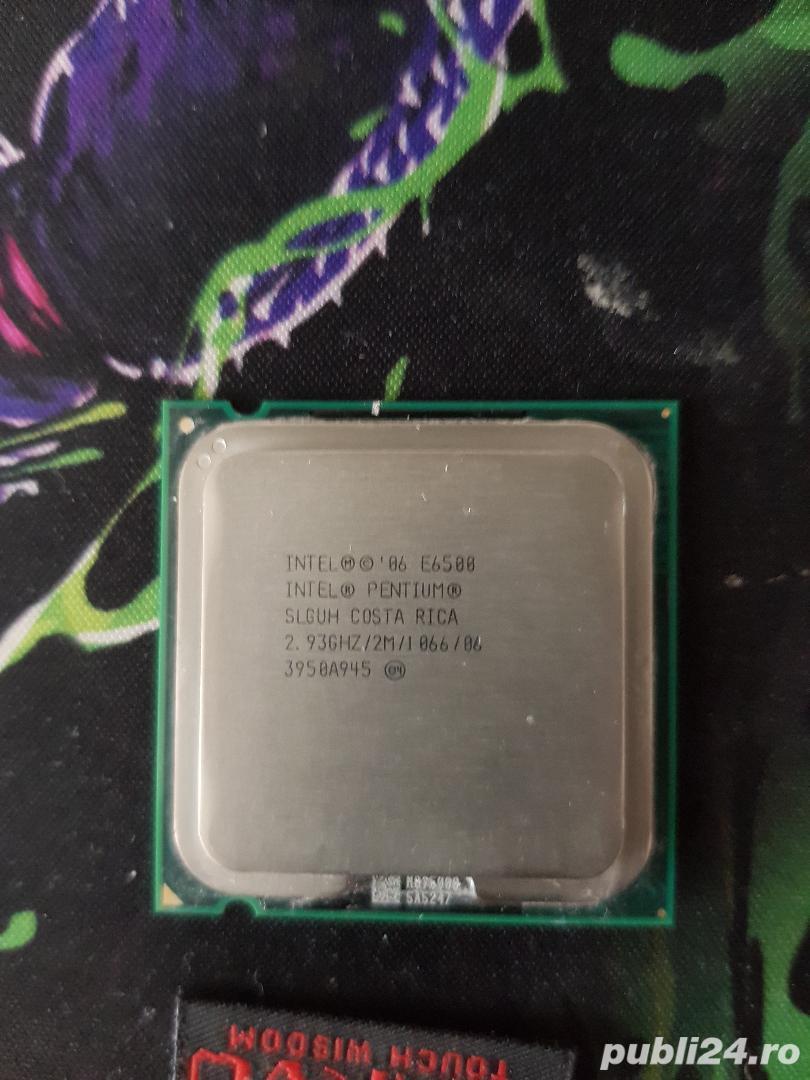 Procesor intel Dual Core E6500 / 2,93 GHZ.