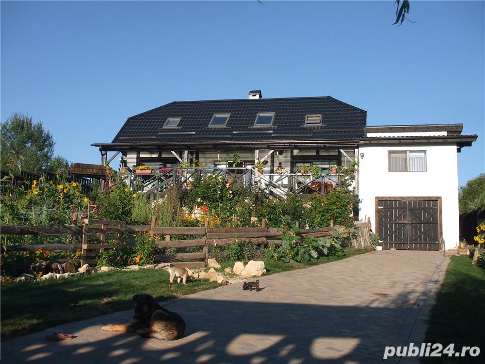 Casa deosebita in zona linistita, la 15km de centrul Cluj Napoca