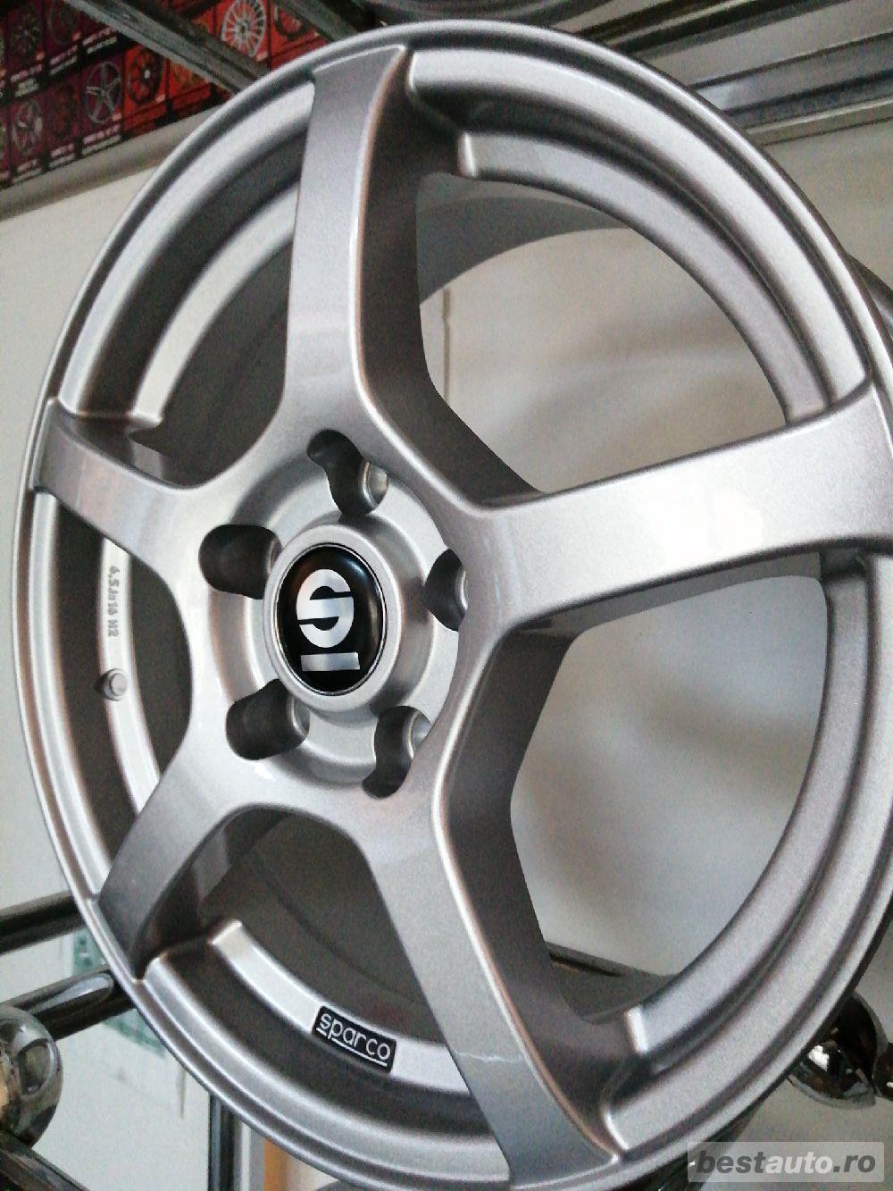 Jante noi Sparco RTT 5x114/5x114.3 Et41 Hyundai /Kia /Mazda /Renault /Honda /Mitsubishi /Opel