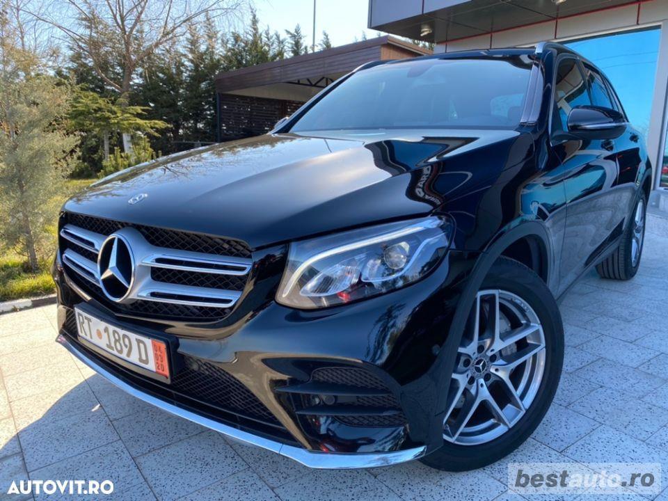 Mercedes-Benz Glc 250d // 2.2 CDi 204 CP // Navigatie Mare 3D // Pilot Automat // Acte La Zi.