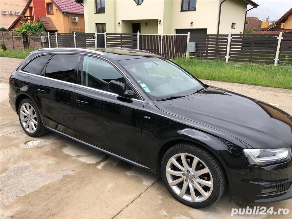 Audi A4 2.0 TDi 190 Cp 2016 S-Line Euro 6 S-Tronic Full Extrase