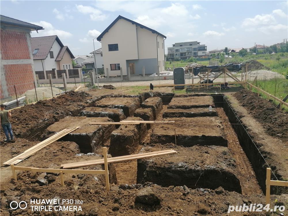 Sc executa constructii case la rosu și la cheie placări fatade