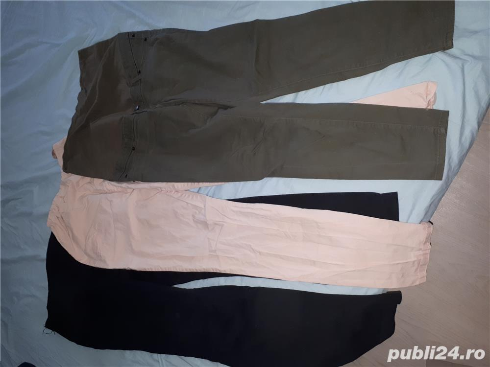 Lot blugi pantaloni gravide h&m h and m lc waikiki L 40