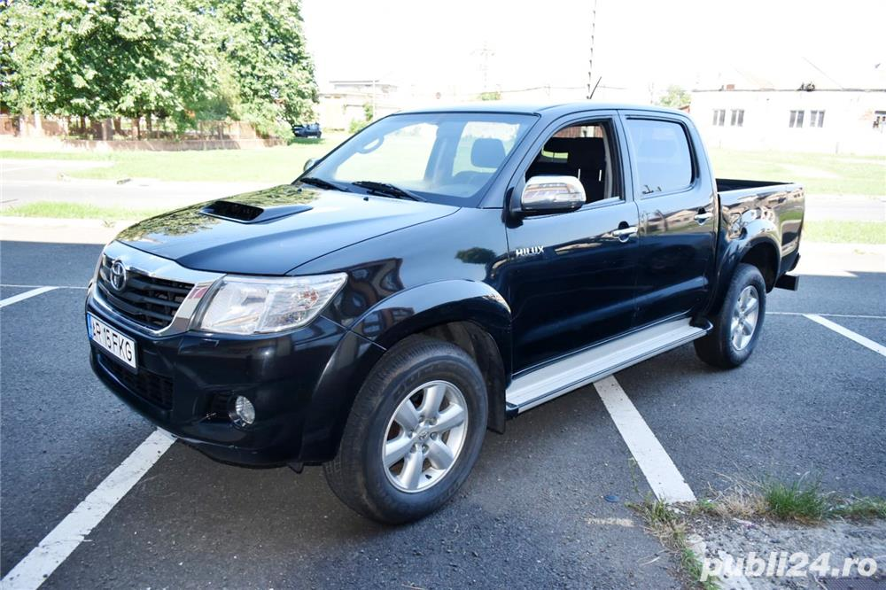 Toyota Hilux 4x4 3.0 Diesel 178 Cp 2013 Euro 5 Automat
