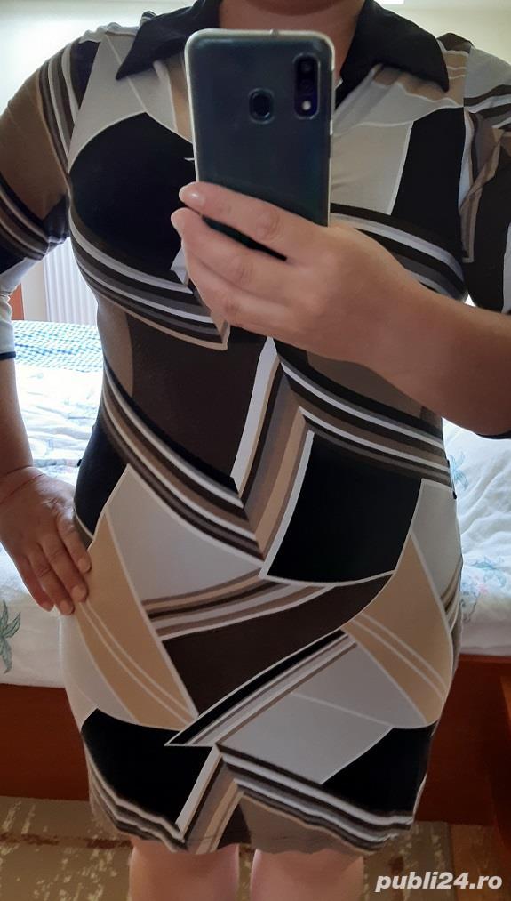 Rochie colorata - marime L