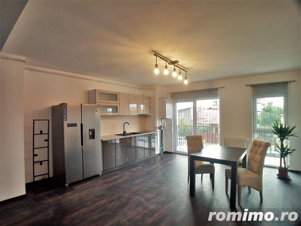 Apartament 2 camere finisat si mobilat in constructie noua