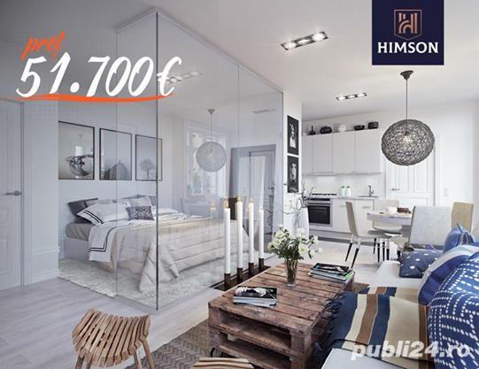 DE VÂNZARE: Apartament 46.96 mp - 51.700€, complex HIMSON IASI