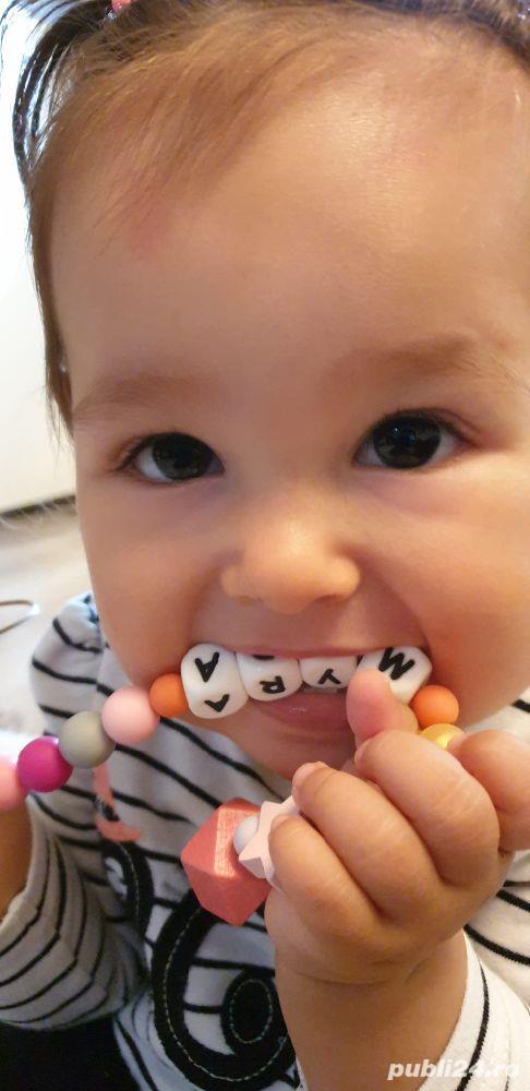 Lantisoare/coliere babywearing alaptare si dentitie