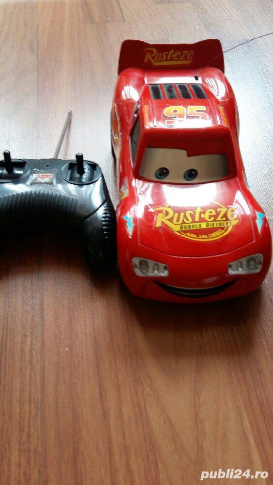 Jucarie masinuta Cars cu telecomanda