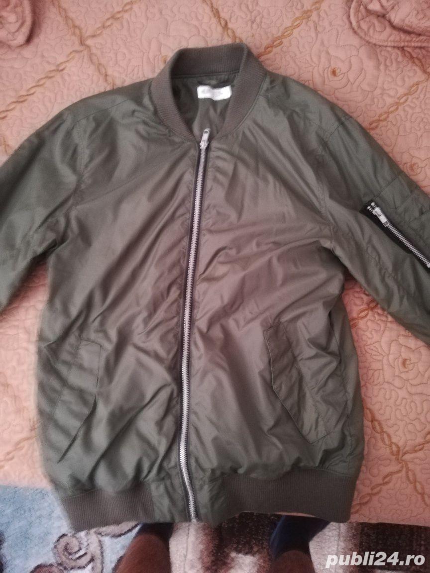 NOU Geacă Bomber Jacket H&M 14 ani+