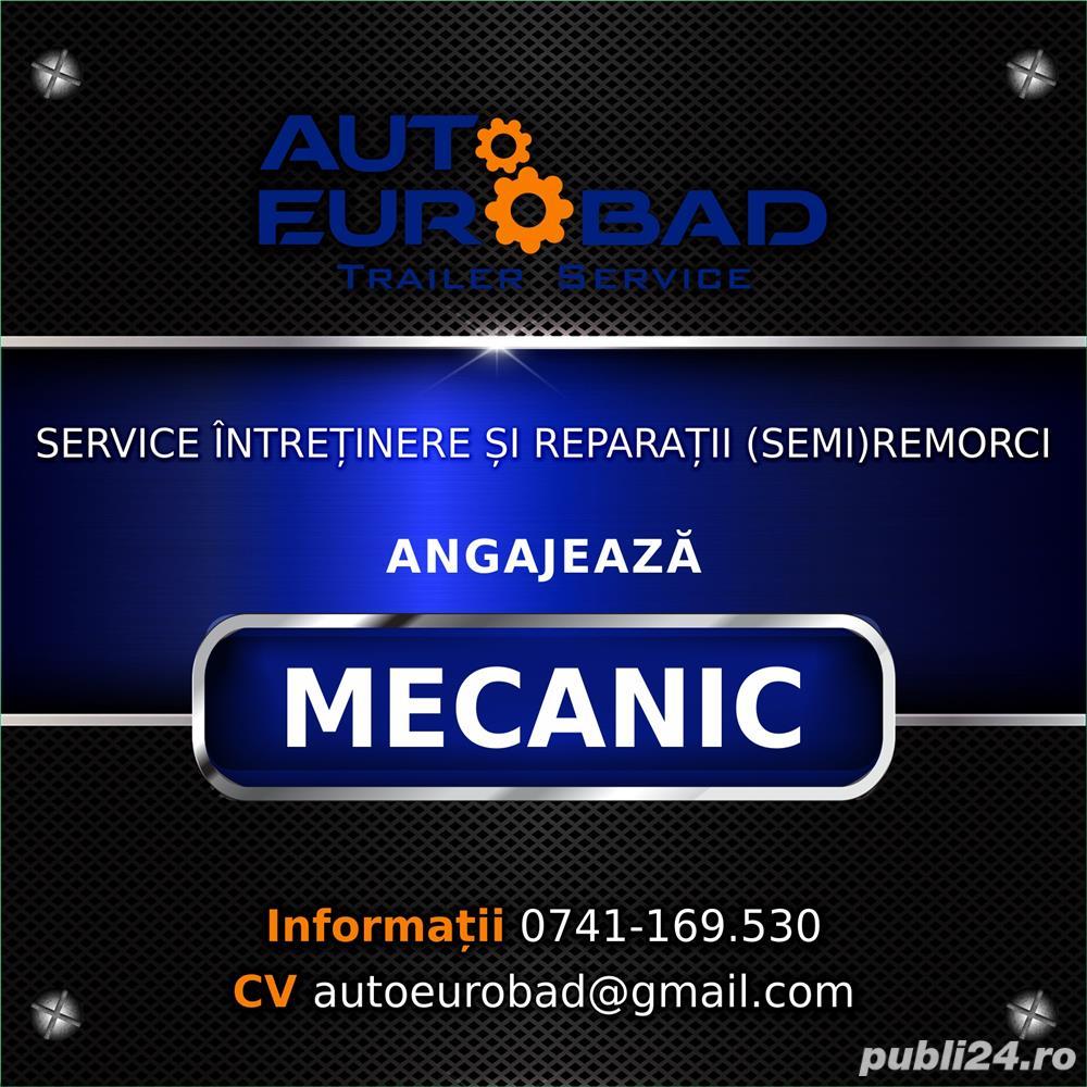 Auto Eurobad angajeaza mecanic!