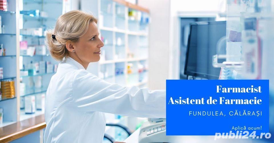 Joburi în Farmacii din Călărași