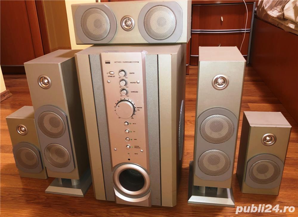 Vând sistem audio surround  - 5.1 Home Theater