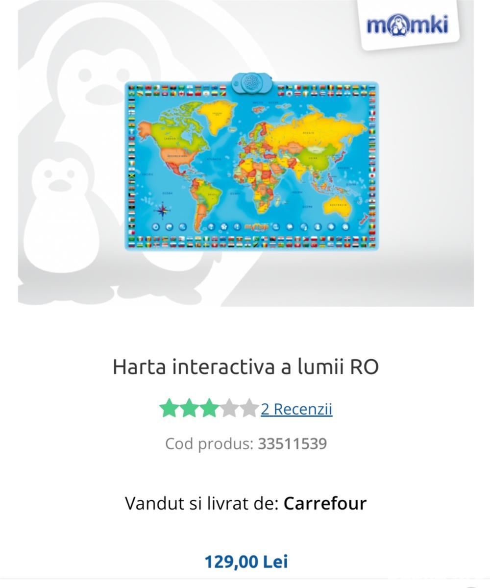 Hartă interactivă, bilingvă:română/engleză, Momki
