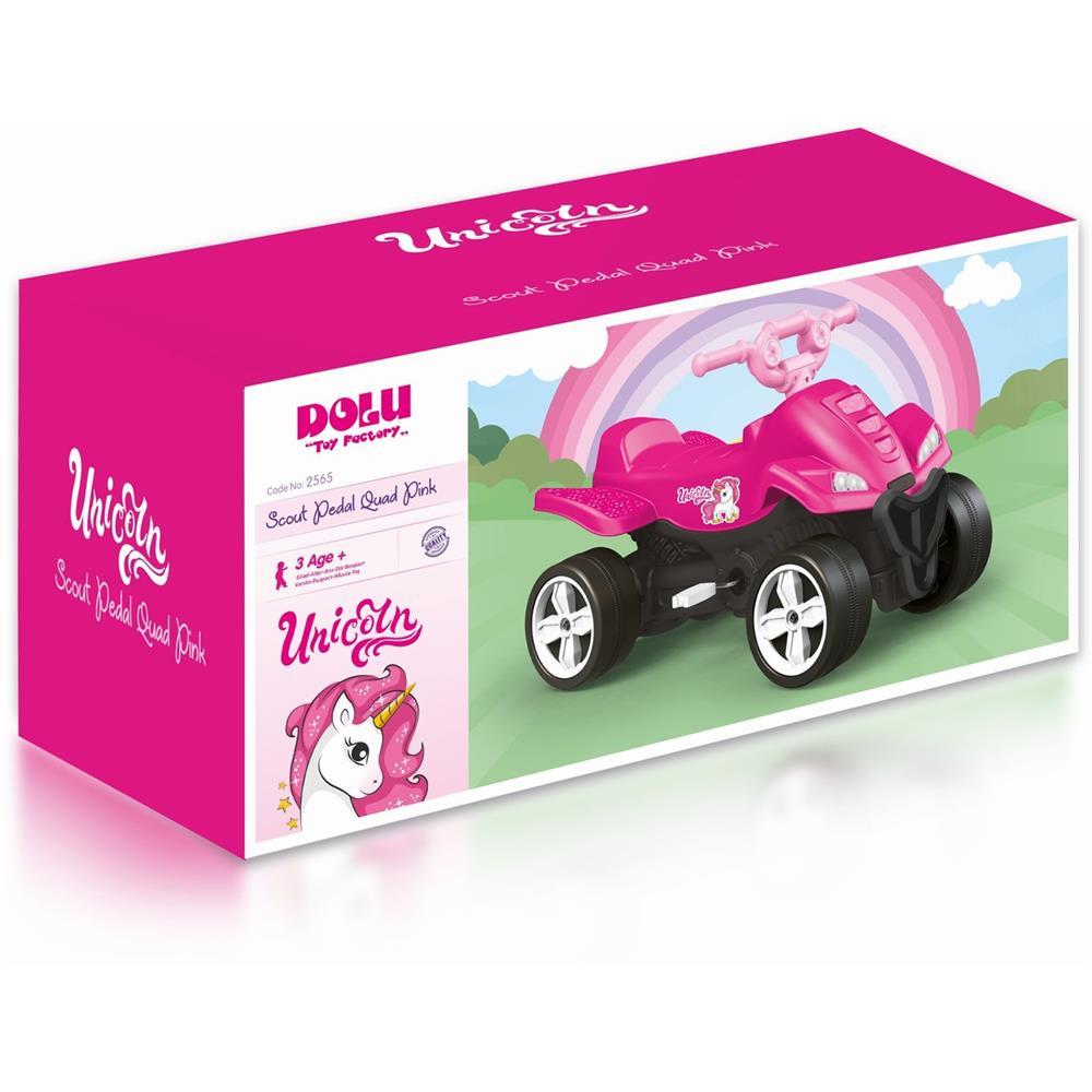 ATV cu pedale roz - Unicorn 7506 261 lei