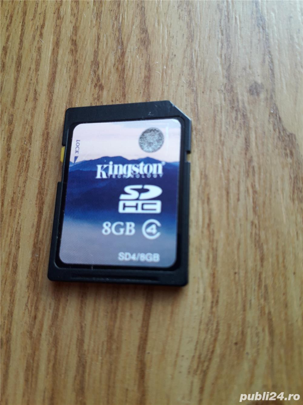 Card Kingston SD 8GB