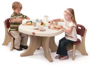 Set Masuta + 2 scaune pentru copii 564 lei
