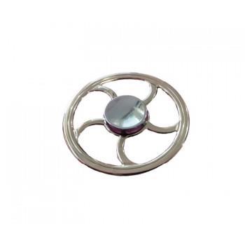 Fidget Spinner Full Aluminium Cromat, 15SP