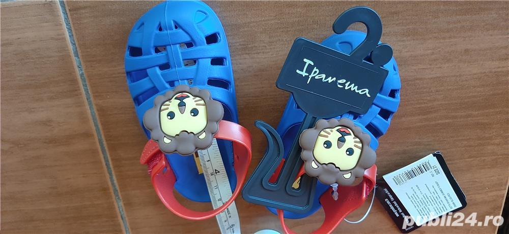sandale bebe Ipanema, noi , marime 21, 13 cm