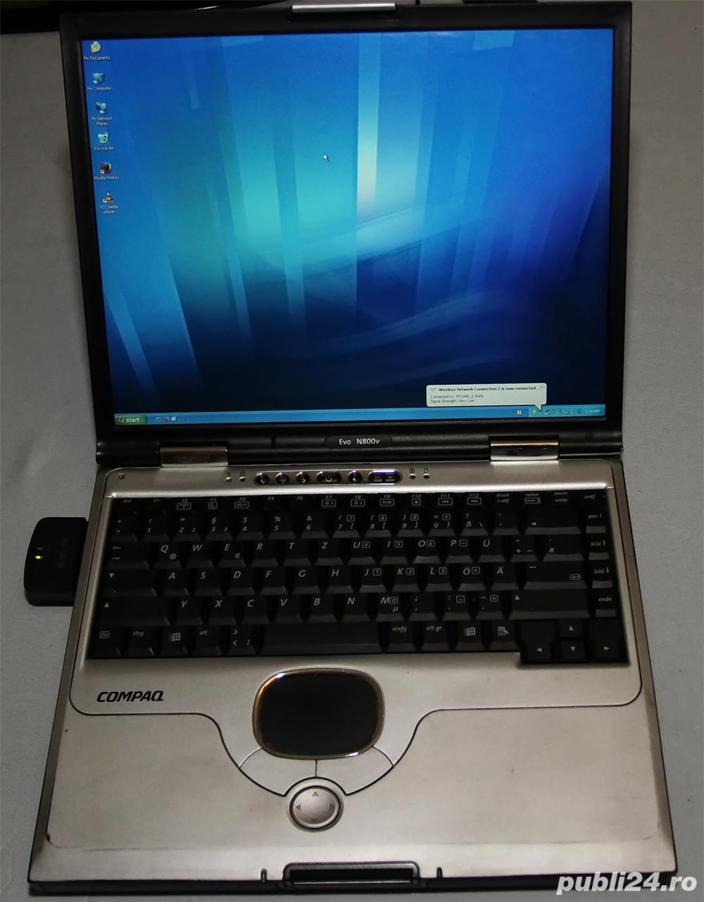 Leptop HP Compaq Intel, 15 inch