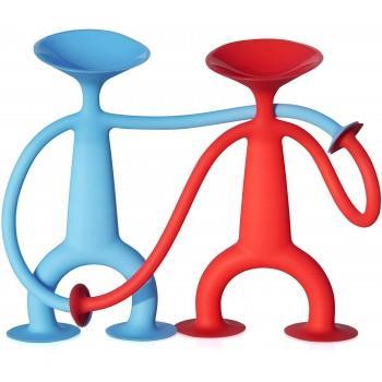 Set 2 Figurine Din Siliconic Cu Ventuze, Oogi Family, 168BZ