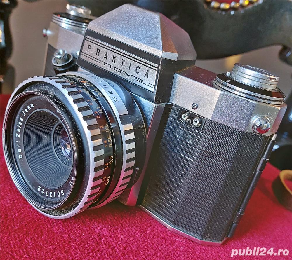 Aparat foto Praktica pentru fotografie clasica sau colectionari