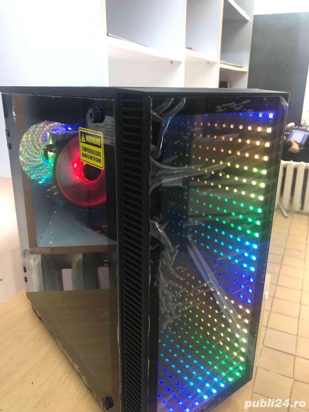 Calculator Gaming  i5-9600K , 16GB DDR4 , SSD 240GB + 1TB HDD , Placa Video  GTX 1070  in garantie