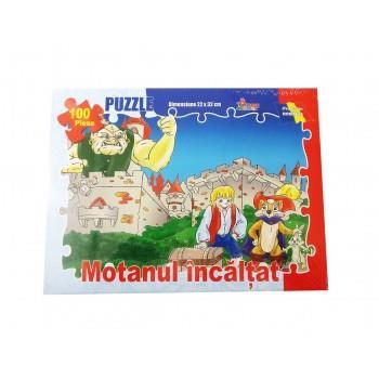 Puzzle Motanul Incaltat 100 Piese , 131BZ