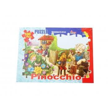 Puzzle Pinocchio 100 Piese , 128BZ