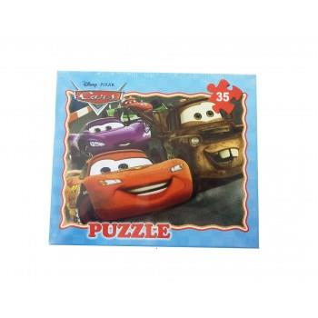 Puzzle Cars 35 Piese , 123BZ
