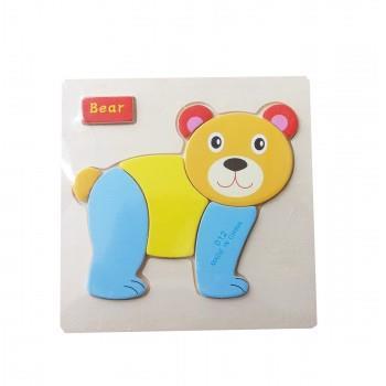 Puzzle Lemn Bear, 117BZ-11