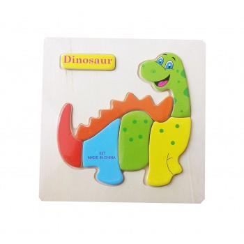Puzzle Lemn Dinosaur, 117BZ-7
